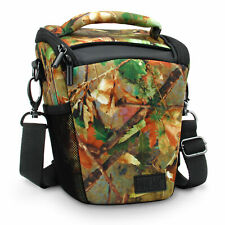 Portable DSLR Camera Case Bag with Top Loading accessibility and Shoulder Sling