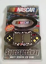 Nascar Electronic Car Racing Handheld Game SuperSpeedway MultiScreen Game ~ New!