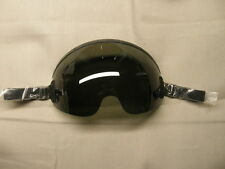 Flight helmet visor for HGU-55/P, MBU-12/P O2 mask, Neutral tint.(dark).