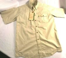 NWT Men's Beretta Featherlight TM Shooting Shirt Sleeve Sand Tan LU20 Size M