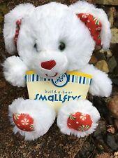"Build a Bear New 8"" Tall Merry Mint Pup Plush Stuffed Animal-HTF Limited Edition"