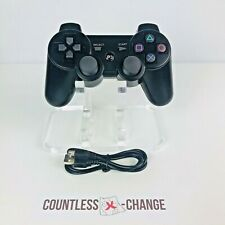Finera Black Wireless Bluetooth Dualshock Controller For Sony PS3 Playstation