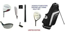 "MENS LEFT HAND X-TALL +1.5"" TECH EXECUTIVE GOLF CLUB SET DRIVER+STAND BAG+PUTTER"