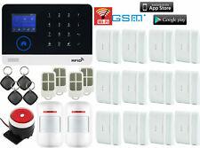 N03 WiFi APP GSM Wireless Home/Office Security Alarm Burglar System+RFID Access