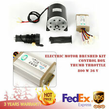 800W 36V Electric brushed motor & Controller & Throttle My1020 Type 11 teeth T8F
