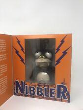 Futurama Nibbler Robot Action Toy Wind-Up Tin Toy Rocket USA! 2000 OOP New RARE