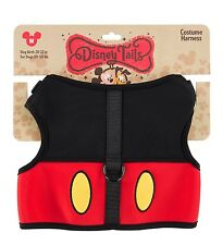 Disney Parks Tails Mickey Costume Harness for Dogs Medium New with Tags