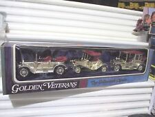Lesney Matchbox 1970 Models of Yesteryear GOLDEN VETERANS Gift Set Y7, Y13, Y14