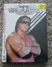 WWE  BRET THE HITMAN HART 3 DISC DVD SET BRAND NEW SEALED WWF TNA WCW