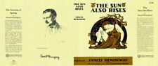 Ernest Hemingway-Fac DJ SUN ALSO RISES