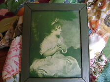 Age of Innocense framed litho/print in original frame and glass *FREE SHIPPING*