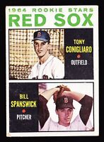 1964 TOPPS #287 TONY CONIGLIARO RED SOX ROOKIE