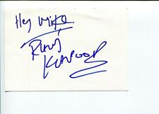 Ravi Kapoor Crossing Jordan Flight Heroes Gideon's Crossing 24 Signed Autograph