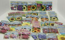 80 Packs Seed Lot of Flowers Over $110 Value Wildflowers, Sunflower, Viola