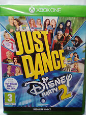 JUST DANCE DISNEY PARTY 2. JUEGO PARA XBOX ONE.REQUIERE KINECT.NUEVO,PRECINTADO.