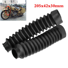 Rubber Front Fork Shock Absorber Dust Cover for Harley  Glide 97-17
