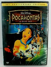 Walt Disney Pocahontas 10th Anniversary Edition 2-Disc Set New Sealed DVD