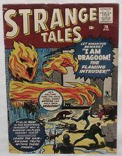 Silver Age STRANGE TALES #76 featuring DRAGOOM, the flaming intruder! FN 6.0