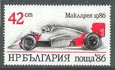 BULGARIA 1986 CARS Formula 1 RACING  McLaren