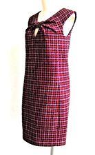New Paul Smith.Black Label wool mohair shift sleeveless dress, Size IT 42, UK 10