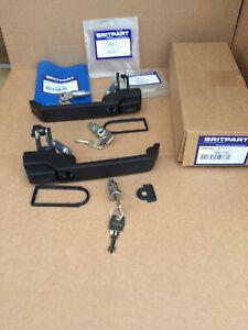 Land Rover Defender 90, 110 Door Handle 87-01 MXC7651 MXC7652 Set Of 3 Key/locks
