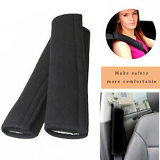 2x Car Seat Belt Cover Shoulder Soft Safety synthetic fibre Cushion Harness Pad