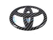 Toyota 4Runner Tiffany Blue Carbon Fiber Emblem Camry Matrix Trunk Badge OEM
