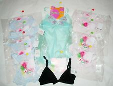 LEPEL 6TEEN lot 11X underwear intimo adolescente donna lotto 11X slip reggiseno