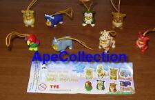 RARE Set 8 Figure WINNIE Pooh WILD COLLECTION Mini Winnies TOMY ITALY Figures