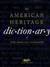 The American Heritage Dictionary of the English Language, Third Edition by Edito