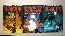 DIABOLIK # Anno XXXVIII N.5-11-12 # Fumetti # Casa Editrice Astorina