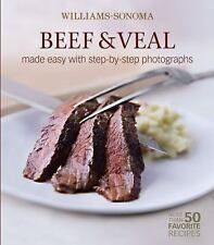 Beef and Veal : Made Easy with Step-by-Step illustrated cookbook NEW easy