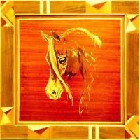 Impiallacciatura di intarsio di arte del pannello di legno del regalo di...