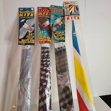 Vtg 90s Gayla Bird Kite Lot Osprey Falcon Seagull & Super Diamond SEALED NOS