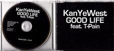 KANYE WEST Featuring T-PAIN Good Life 2007 UK 1-track promo CD
