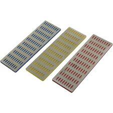 "3 Piece Professional Diamond Stone Sharpening Set Fine & Coarse - 6"" x 2"""