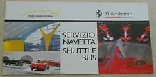 Museo Casa Enzo Ferrari 2012 Modena Folder Brochure Prospekt no book buch press