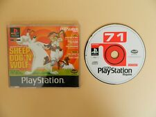 Official UK Playstation Magazine Demo Disc 71 - Sheep Dog Wolf Metal Gear Solid
