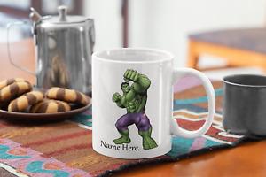 Incredible HULK Personalised kids mug
