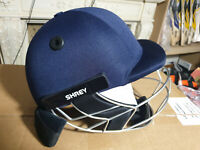 Shrey Helmet Master Class Air Steel Senior Helmet with Neck Guard Fits Size M L
