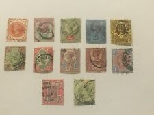 1887-92 Great Britain Qv Jubilee Complete Set - Scott cv $274.85 - Lot #138