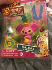ANIMAL JAM GAME COOL KOALA & PET PONY PINK FIGURE TOY WITH CODE  2016