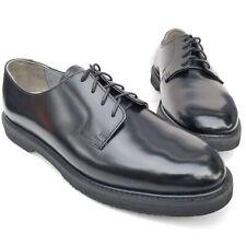 Rocky Comfort Oxfords Black Leather Men's Oil Resistant Work Shoes Size 10.5 W