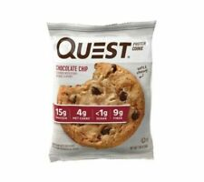 Quest Nutrition QPCCC12 Chocolate Chip Protein Cookie - 12 Count