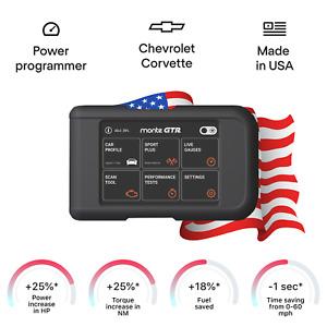 Chevrolet Corvette tuning chip box power programmer performance race tuner OBD2