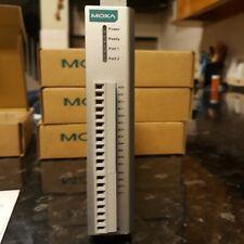 Moxa ioLogik E1240 Remote Ethernet I/O, 8AI, 2-Port Switch
