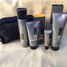 Mary Kay MK Men Skin Care Regimen Set 4tlg Men Gesichtspflegeset +Kulturtasche