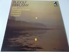 RUDOLF FIRKUSNY PLAYS BEETHOVEN SONATAS - DECCA PHASE 4 VINYL LP MADE IN ENGLAND