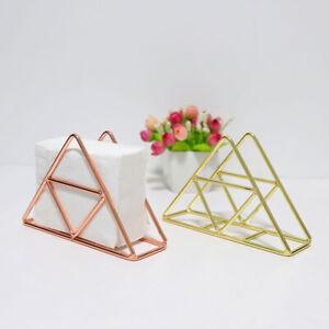 1 * Metal Napkin Serviette Holder Dispenser Rack Home Party Dining Table Decor