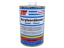 1 L STC Acrylverdünner kurz Lackverdünner Farbverdünner Verdünnung